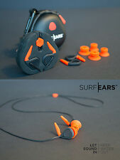 SURF EARS Ear Plugs Watersports Surfing Swimming Swim Earplugs Surfers Kayak