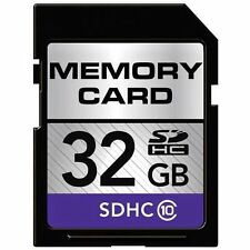 32GB HI-SPEED SDHC SD HC CLASS 10 CARD FOR CAMERA CAMCORDER HD VIDEO SP