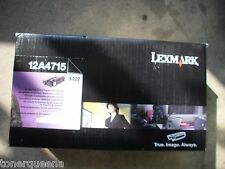 New ! GENUINE Lexmark X422 High Yield Black Print Cartridge Toner 12A4715