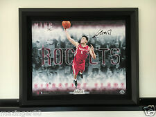 姚明 中國 Yao Ming Autographed 1 of 1 UDA 25x20 Slams BLACK Edition Canvas 1/1 HOF