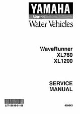 Yamaha WaveRunner service manual 1999 XL700, XL760 & XL1200