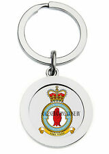 ROYAL AIR FORCE 502 ULSTER SQUADRON KEY RING (METAL)