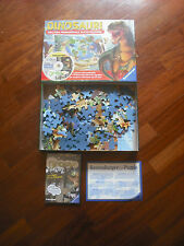 Gioco 2 Puzzle intercambiabili + CD Dinosauri by Ravensburger