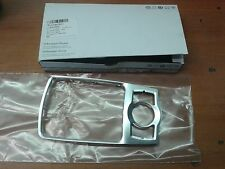 NEU Original Audi A6 4F MMI Chrom Blende Ring 4F0864260A Bedienkonsole Radio Nav