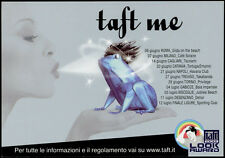 cartolina pubblicitaria PROMOCARD n.3745 TAFT TESTANERA ABSOLUT GEL
