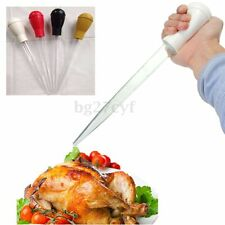 30ml Clear Tube Baster Syringe Pump Pipe Chicken Turkey Poultry Meat BBQ Picnic
