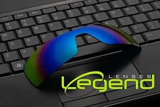E39 GREEN/BLUE POLARIZED Replacement Legend Lenses For Oakley OIL RIG