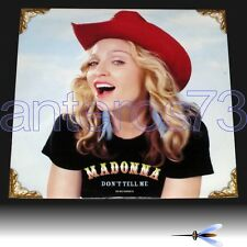 """MADONNA """"DON'T TELL ME"""" RARE 12"""" MADE IN GERMANY 2000 - MINT"""