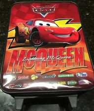 Large Rolling Backpack - Disney - Cars - Lightning McQueen Bag  Very Nice See