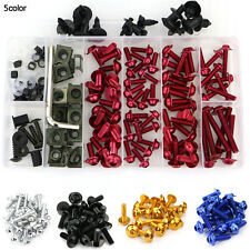 Honda CBR600RR 2003 2004 2005 2006 Complete Bolt Fairings Screws Fasteners Red