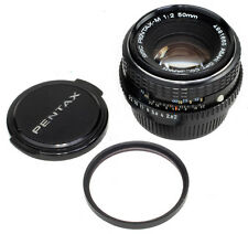 SMC Pentax-M 50mm 1:2 complete Made in JAPAN Fast wie NEU ! FREE SHIPPING !