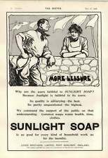 1906 More Leisure Provided By Using Sunlight Soap
