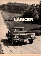 1961 DODGE LANCER ~ ORIGINAL 2-PAGE NEW CAR PREVIEW ARTICLE / AD