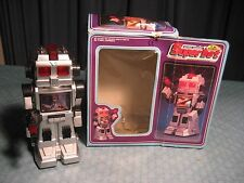 "1987 BOTOY BATTERY OPERATED SUPER BOT T.V. ROBOT TOY WITH BOX ""LOOK"""