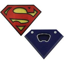 Superman - Shield Logo 3D Shaped Bottle Opener - New & Official DC Comics