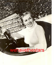 Vintage Anita Ekberg BUSTY TIGHT SWEATER '55 Publicity Portrait