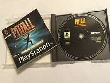 PS1 PLAYSTATION 1 PSone GAME PITFALL 3D BEYOND THE JUNGLE +BOX IN'S COMPLETE PAL