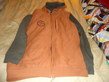 Analog Mandate Zip Jacket xl  nwot burnt orange
