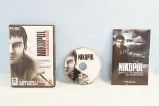 Nikopol: Secrets of the Immortals PC 2008 Computer Video Game DVD-Rom-Complete