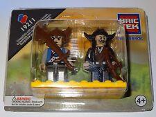 Castle Set of 2 Mini Figures People BricTek Building Construction Block Toy