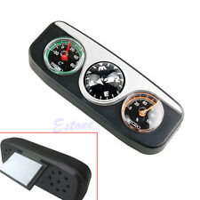 3in1 Guide Ball Car Boat Vehicles Auto Navigation Compass Hygrometer Thermometer