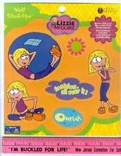 LIZZIE MCGUIRE wall stickers 6 decals fashion girl's room decor Disney