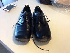 miu miu mens black shoes sz. 13