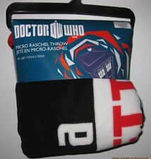"Dr. Doctor Who SUPPORT OUR TIME LORDS Micro Raschel Throw Blanket 50"" by 60"""