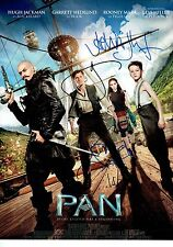 PAN Hugh Jackman CAST Signed Large 16X12 inch Photo AFTAL OnlineCOA