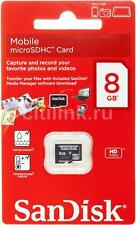 Original 8G SanDisk MicroSDHC Micro SD SDHC 8GB TF Memory Card Class 4 Retail