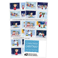 USPS New A Charlie Brown Christmas Forever Booklet of 20