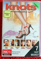 DVD   Knots (sex comedy with a twist) / Scott Cohen / (M)15+/ Reg 4 / EX RENT