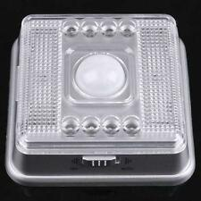 Auto 8 LEDs Light Silver Sensor Sensitivity Motion Detector Lamp for Home