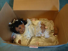 "Rose Collection-"" Adeline "" Porcelain Crawling Baby Doll With Certificate & Box"