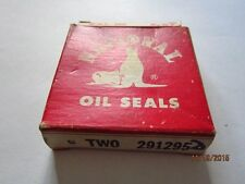 partial box NATIONAL oil Seals #291295 Federal-Mogul Bearings,Inc