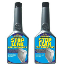 2 x RAD RADIATOR CAR COOLING SYSTEM STOP LEAK 325ml ANTI CORROSION LIKE K SEAL