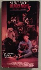 mickey rooney SILENT NIGHT DEADLY NIGHT 5 THE TOYMAKER   VHS VIDEOTAPE
