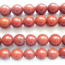 "16"" Gemstone Red Jasper 4mm round beads - E138"