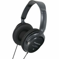 Panasonic RP-HT225E-K Monitor Headphones with XBS bass-rich BRAND NEW - Black
