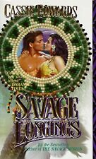Savage Longings, Edwards, Cassie, Acceptable Book