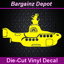 Vinyl Decal ** YELLOW SUBMARINE ** Car Laptop Vinyl Decal Sticker Beatles