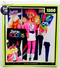 My Favorite Barbie 50th Anniversary 1986 Barbie And The Rockers Mattel