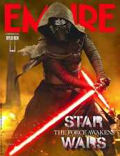 EMPIRE MAGAZINE JANUARY 2016 STAR WARS THE FORCE AWAKENS KYLO REN PHOTO COVER