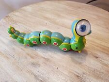 Cragstan Toys 1964 Vintage Wacky Worm Wind-Up Green Whacky Inch Rare Caterpillar