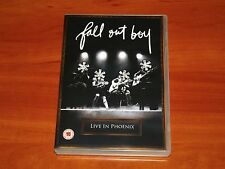 FALL OUT BOY LIVE IN PHOENIX DVD CONCERT TOUR PERFORMANCE VIDEOS FOOTAGE New