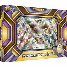 POKEMON XY Kangaskhan EX COLLECTION BOX: BOOSTER Pack + carte promo