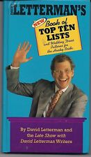 David Letterman's Book of Top Ten Lists: and Wedding Dress Patterns