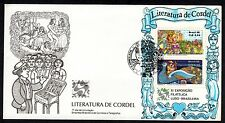 Brazil-1986-FDC (First Day Cover)-Commemorative Stamp-Cordel- Lot 514