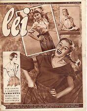rivista LEI ANNO 1952 NUMERO 30