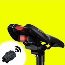 3in1 Bicycle Rear Light Bell Wireless Remote Control Alarm Lock Fixed Position